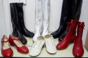 танцевальная обувь производства компании рр-коллекшн
