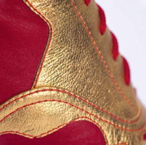 золотая нашивка на кадрильки узоры арт. 012к