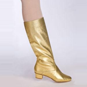 сапоги славянка золотые