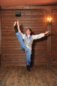 танцор в сапогах калинка арт.008к