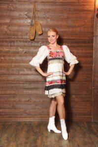 танцовщица в кадрильках сударушка арт.0,39м