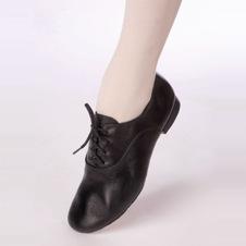 черные танцевальные туфли мужские арт.021к