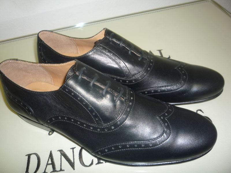 Туфли сценические кожаные