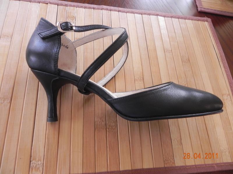 туфли сценические на шпильке
