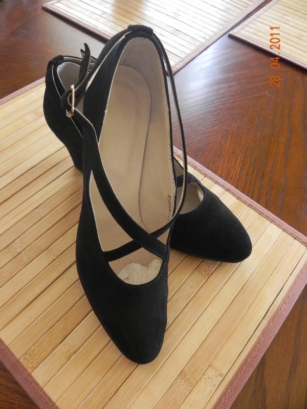 Туфли сценические ремешок