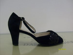 Туфли сценические женские с ремешком