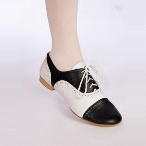 туфли танцевальные комбинированные мужские классика