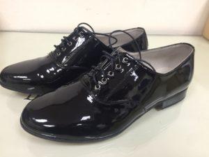 туфли танцевальные мужские лакированные