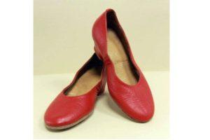 туфли танцевальные женские маруся красные