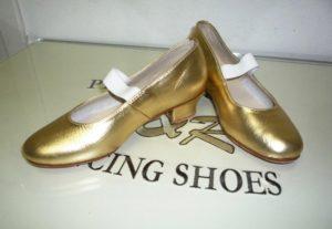туфли танцевальные женские маруся золото